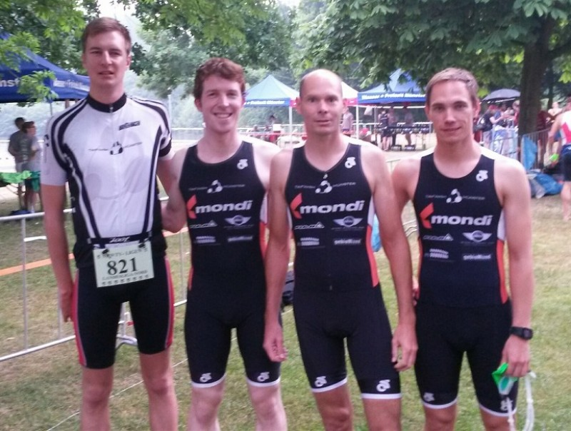 M5: Spontaner Duathlon in Saerbeck