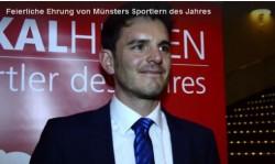 Patrick Dirksmeier ist Münsters Sportler des Jahres