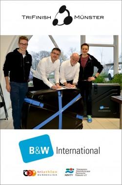B&W auch in der kommenden Saison wieder als Sponsor dabei