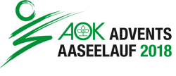 29. AOK Advents-Aaseelauf - Ergebisse