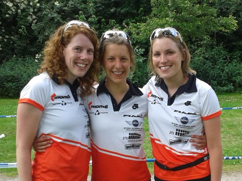 Das Siegreiche Team: Marina, Johanna und Teresa